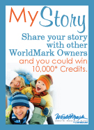 Share your story and win 10,000* credits